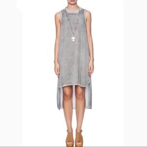 Cloth & Stone Anthro high low dress
